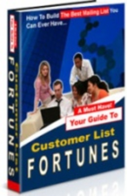 Product picture customer list fortunes make money from email list